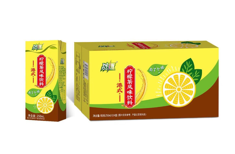 战燃港式柠檬茶风味饮料