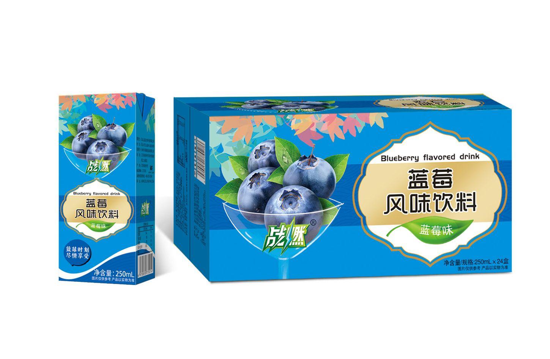 战燃蓝莓风味饮料