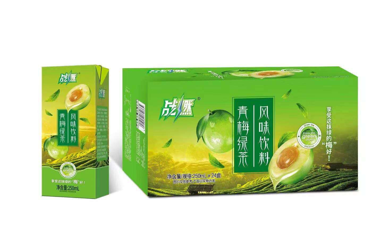 战燃青梅绿茶风味饮料