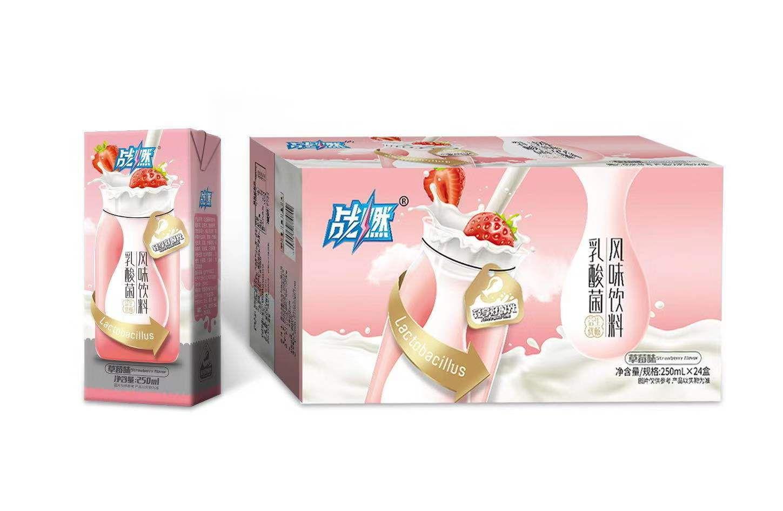 战燃乳酸菌风味饮料(草莓味)