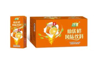 战燃仙优橙风味饮料